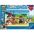 Ravensburger - Chien Héroïque Pat Patrouille - Lot de 2 Puzzles 24 pièces - Puzzle enfant - dès 4 ans - 09064