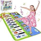 NEWSTYLE Jouet Enfant Garçons Filles,Tapis de Piano Musical Enfant 2 Ans,Jouet de Piano Tapis De Danse Piano Mat,Tapis de Jeu