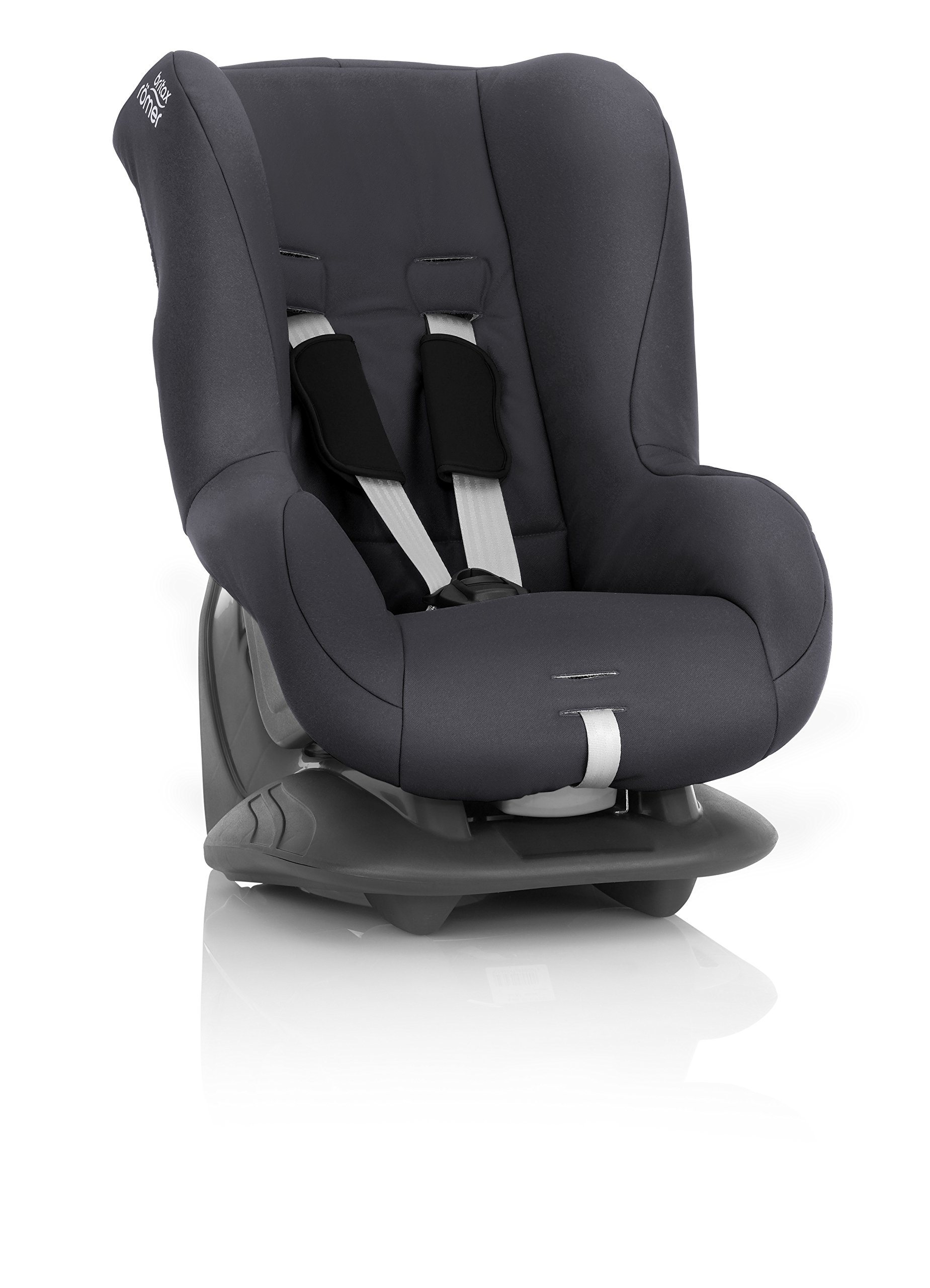 Britax Römer ECLIPSE Group 1 (9-18kg) Car Seat - Storm Grey Britax Römer Deep, protective side wings - our soft, padded side wings act as a protective cocoon that helps to absorb the force from a side impact, reducing the risk of injuries to your child. Easy adjustable headrest and harness - our padded headrest and harness can easily be adjusted with one hand to suit your child's height. 5-point harness - we believe a 5-point harness is the safest way to secure your child in a car seat because it keeps your child safe and tight in the seat's protective shell. 3
