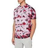Urban Classics Men's Black Tie Dye Oversized Tee T-Shirt