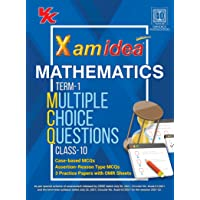 Xam Idea CBSE MCQs Chapterwise For Term I, Class 10 Mathematics Standard (With massive Question Bank and OMR Sheets for…