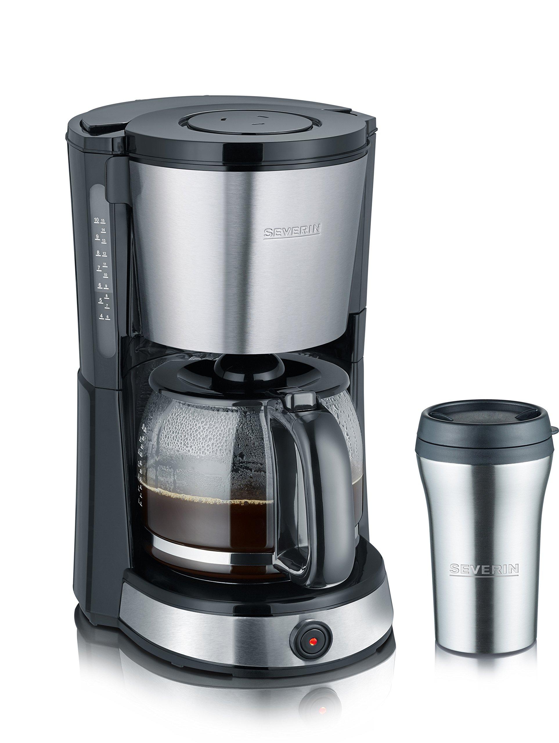 SEVERIN-KA-4496-Kaffeemaschine-edelstahl-gebrstet-schwarz