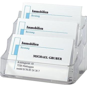 Sigel VA130 Presentoir De Carte Visite Pour 210 Cartes Format 94 X