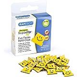Rapesco 1335 Supaclip 40 Refill Fun Clip - helder geel (Pack van 100)
