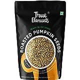 True Elements Roasted Pumpkin Seeds 125g - Healthy Snacks, Pumpkin Seed