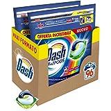 Dash Pods Allin1 Detersivo Lavatrice in Capsule Colore, Maxi Formato da 48 x 2 Pezzi, 96 Lavaggi
