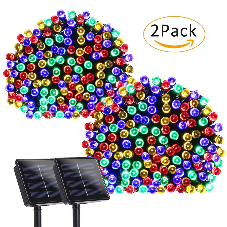 Ersatzbirnen Für Weihnachtsbeleuchtung.Ledertek Solar Lichterkette Kugel 6m 30 Led Außenlichterkette Lichtsensor Wasserdicht Weihnachtsbeleuchtung Beleuchtung Für Außen Valentinstag