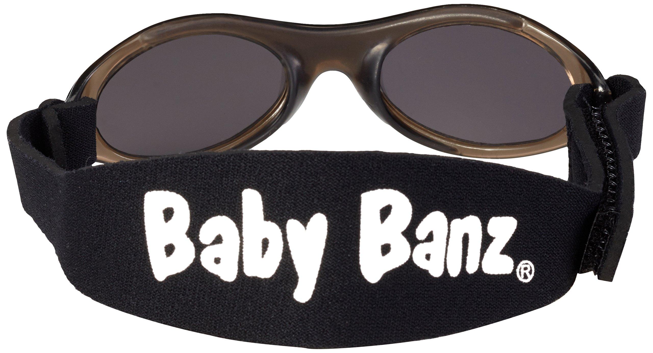 Baby Banz - Gafas de sol Ovaladas para niños, Black, 0-2 anos 2