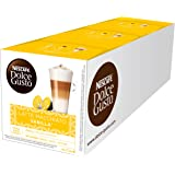NESCAFÉ Dolce Gusto Café Latte Macchiato Vainilla, Pack de 3 x 16 Cápsulas - Total: 48 Cápsulas de Café