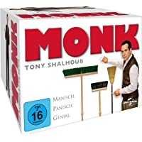 Monk - Staffel 1-8 - Gesamtbox [32 DVDs]