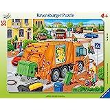 Ravensburger - 06346 8 - Puzzle - Camion Poubelle