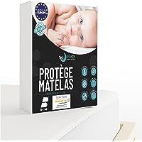 Dreamzie Protège Matelas 60 x 120 cm Imperméable - Alèse certifiée Oeko-TEX® Hypoallergénique, Anti-Acarien et Bactérien…