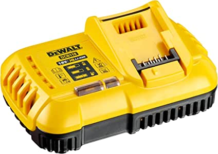 Dewalt DCB118-GB DCB118 XR Multi-Voltage Fast Charger, 18 V, Yellow/Black, one Size