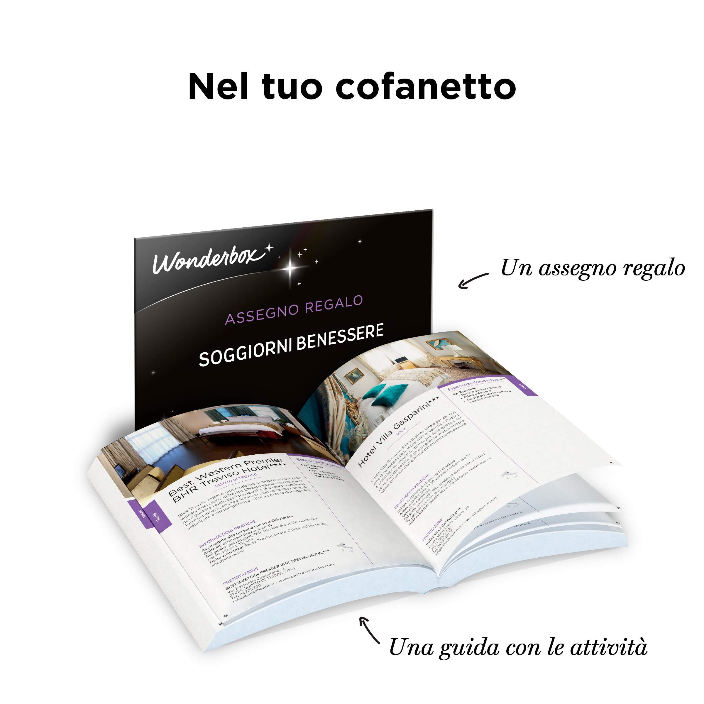 WONDERBOX Cofanetto Regalo - Soggiorno Spa & Relax - 750 SOGGIORNI ...