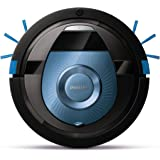 Philips FC8774/01 Smart Pro Compact Robotersauger mit 12,8 V Li-Ion Akku, 0.4 L, schwarz/blau