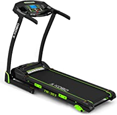 Kobo TM-303 Steel 3 H.P Motorised Treadmill (Black)