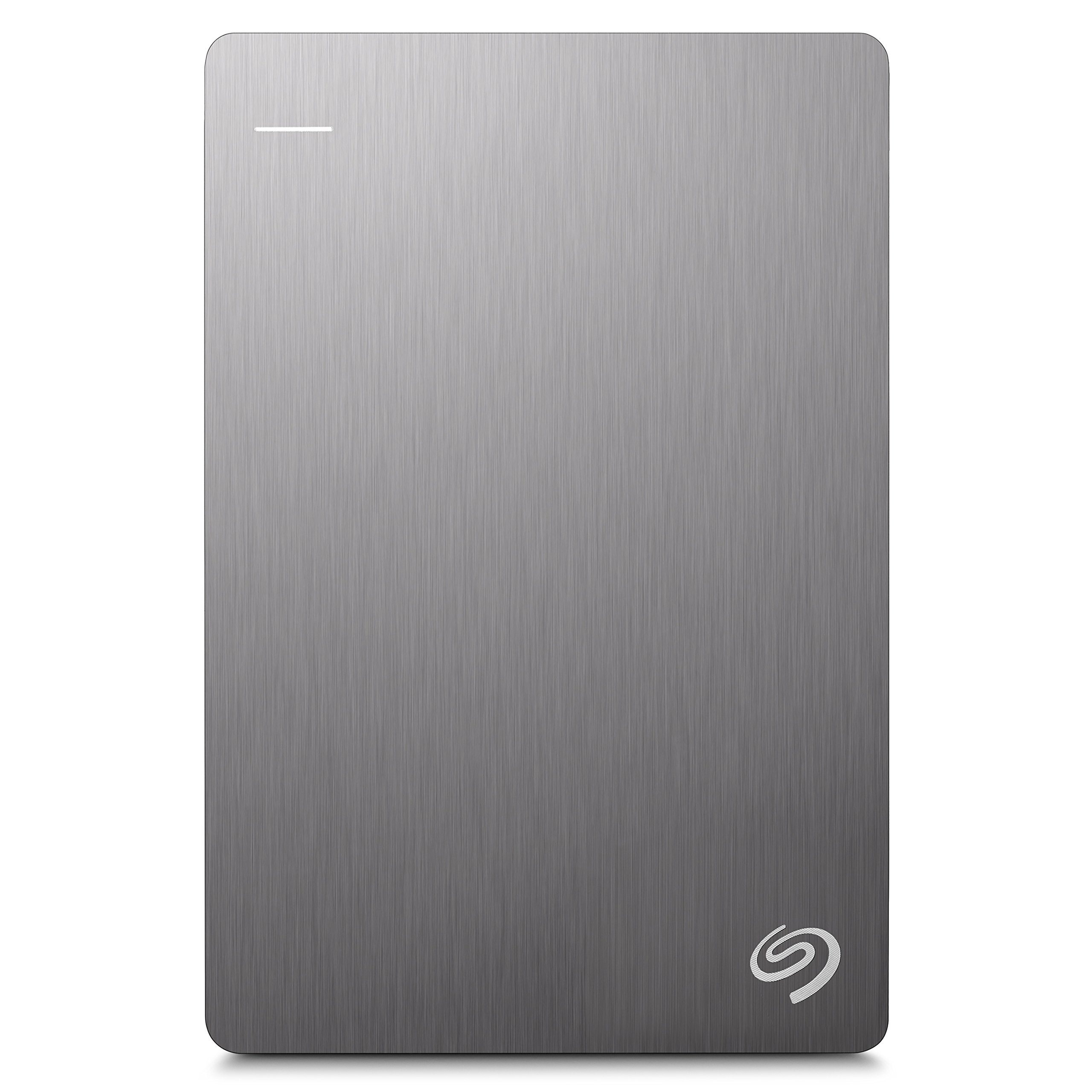 Seagate Backup Plus Slim - Disco duro externo portátil de 2.5' para PC y Mac (2 TB, USB 3.0) Plata