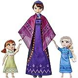 Disney La Reine des Neiges 2 - Poupées électroniques Elsa et Anna avec leur maman Iduna