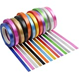 Ancoo 26 Rolls Curling Ribbon Ballon Ribbon Christmas Ribbon for Gift Wrapping Valentine Wedding Party Decoration