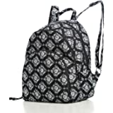 Women's 100% Cotton Campus Backpack,Simple Design Fashion Casual Backpacks