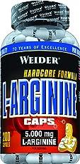 Weider, L-Arginine Caps, 200 Kapseln (276 g)