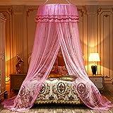 Muggennet, klamboe, bedhemel, prinses muggennet, universeel koepelnet, hangbed, baldakijn voor tweepersoonsbed & eenpersoonsb