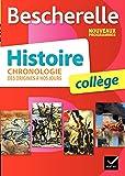 Bescherelle Histoire collège : chronologie des origines à nos jours - Nouveau programme 2016