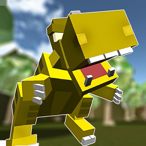 block-dino-hunt