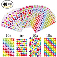 Gommettes 40 Feuilles Pour Fujifilm Instax Mini Photo Autocollants Pour Album Photo Scrapbooking Instax Mini Photo DIY…