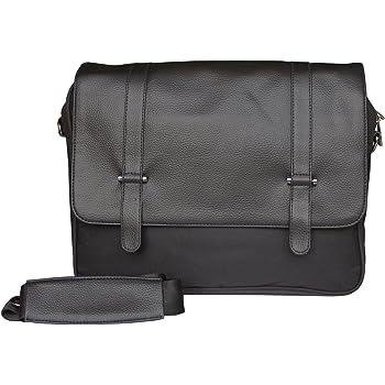 Mohawk Tucson Black PU Laptop Bag