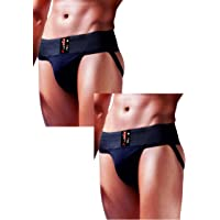 AllsBalls Jockstrap Gym Cotton Supporter with Cup Pocket Gym, Fitness & Outdoor Inner Wear Soft Underpants
