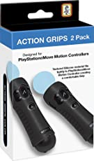 RDS Industries 2 Pack Action Grips for PlayStation Move Motion Controllers