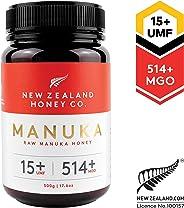New Zealand Honey Co. Raw Manuka Honey UMF 15+ | MGO 514+, 500g