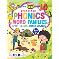 Phonics Reader - 3 (Word Families Short and Long Vowel Sounds) Age 6+