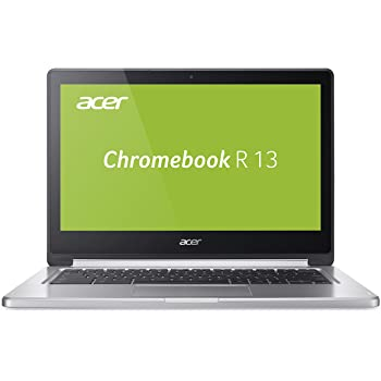 Acer, Chromebook r13, 2in1 convertible full-hd ips touch-display 4gb 32gb flash chrome os - ordenador portátil [Teclado Aleman QWERTZ]