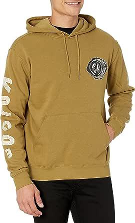 Volcom Men's Pentropic P/O Fleece Hooded Sweatshirt