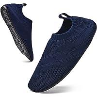 Sosenfer Chaussures Homme Femme Maison Pantoufle Antidérapante Slip-on Slippers Unisex