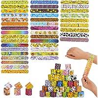 Herefun Slap Bracelets, 40 Pièces Bracelet Enfant Toy Bracelets à Claquer Bracelets pour Enfants Fête d'anniversaire…