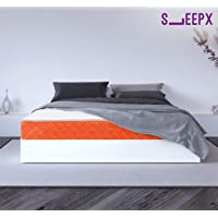 SleepX Brill PU Foam Mattress - (72x72x5 Inches)