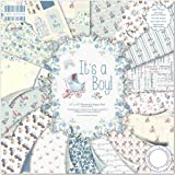 "First Edition Pad Papier 12""x12"" It's A Boy"