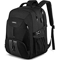 Extra Groß Rucksack Herren 50L Wasserdicht 17 Zoll Laptoptasche Arbeit Laptop Rucksack mit USB Ladeanschluss Anti…