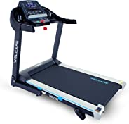 WELCARE WC2266, 4 Hp Peak DC Motorized Folding Treadmill with LCD Display, 12 Preset Programs to Improve Cardiovascular Fitn