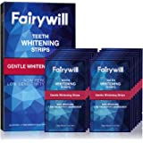 Fairywill Teeth Whitening Strips, Reduced Sensitive White Strips for Teeth Whitening, Zero Peroxide and Enamel Safe, Rapid Wh