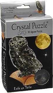 Puzzles & Geduldspiele Schädel schwarz 49 Teile 3D Crystal Puzzle
