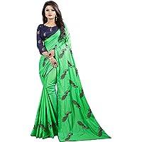 shiroya brothers Women's Banarasi Pure Silk Saree With Unstitched Blouse Piece