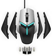 Dell Alienware AW958 Elite Gaming Mouse, Customisable AlienFX Lighting, 9/13 Programmable Buttons, Extended Grip Thumb Suppor