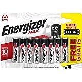 Energizer 153581 Lot de 12 Piles AA