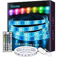 Govee Ruban à LED 5m Bande LED RGB Multicolores Améliorée Lumineuse avec Télécommande Décoration d'Armoire pour Maison…