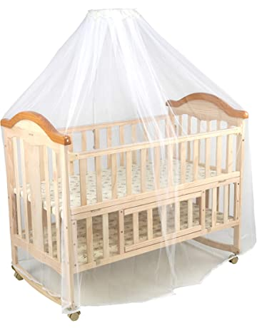 Roll over image to zoom in Luvlap C-70 Baby Wooden Cot with Rocker (Beige)