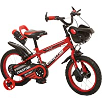 Ollmii Bikes Creattor 14 inches Steel Rim Kids Cycle for 3 to 5 Years